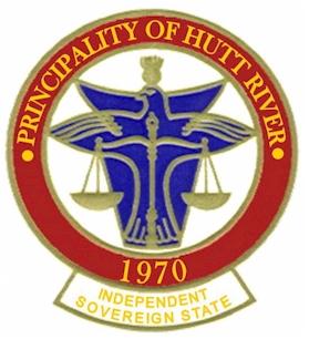 Les armoiries de la Principauté de Hutt River