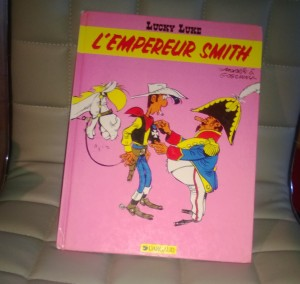 "La couverture de ""l'empereur Smith"""