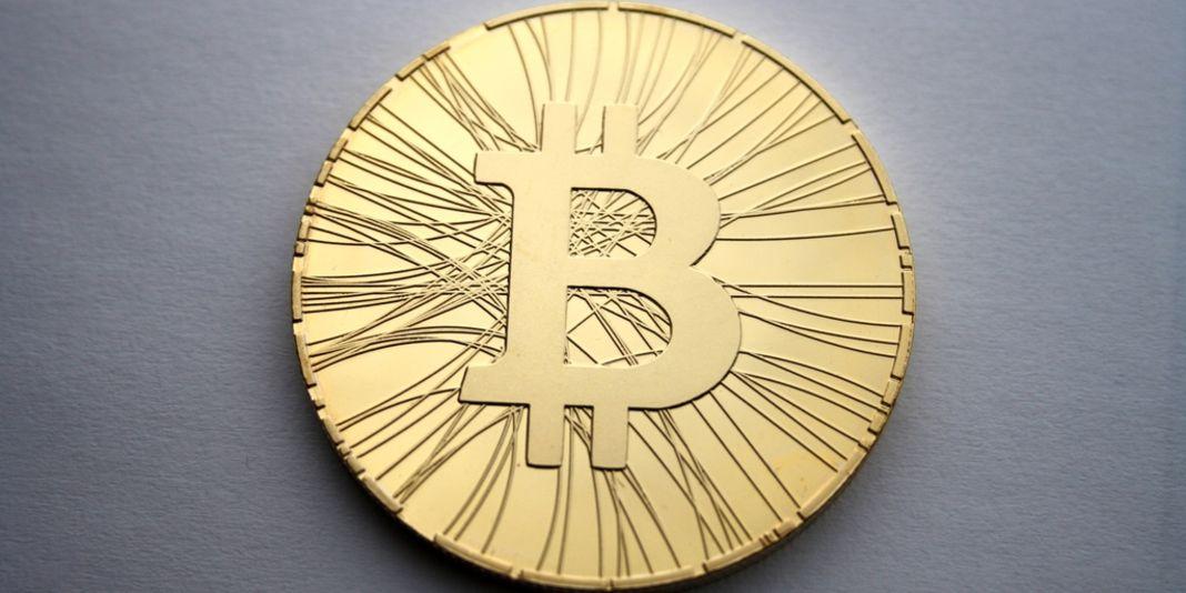 La représentation physique d'un bitcoin