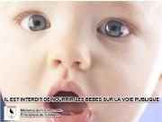 Une affiche prévention diffusée par le gouvernement Tostaque