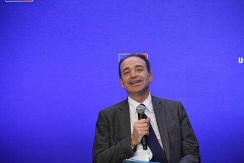 Le président de l'UMP, Jean François Copé