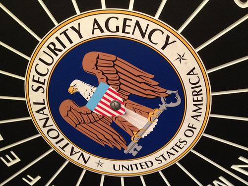 le logo de la NSA