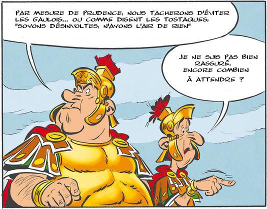 Les romains dans Astérix en Tostaquie
